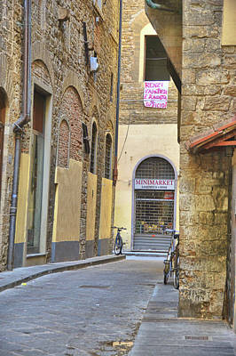 Photograph - Narrow Streets Of Florence by JAMART Photography