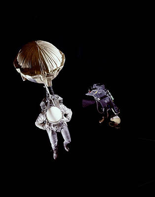 Photograph - Nasa Space Suit by Ralph Morse