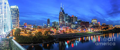 Photograph - Nashville Night by David Smith