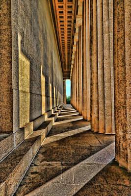 Photograph - Nashville Parthenon # 2 by Allen Beatty