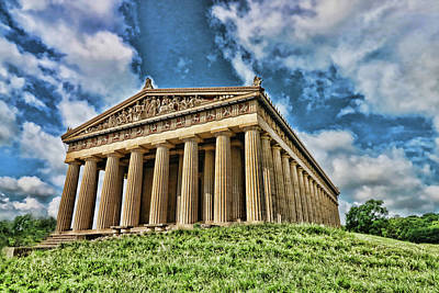 Photograph - Nashville Parthenon # 4 by Allen Beatty