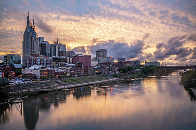 Photograph - Nashville Tennessee Sunset  by John McGraw