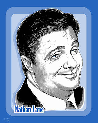 Royalty-Free and Rights-Managed Images - Nathan Lane 2 by Greg Joens