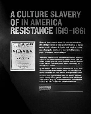 Photograph - National Civil Rights Museum - Slavery And Resistance by Allen Beatty