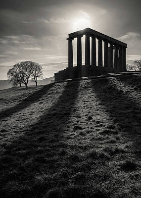 Photograph - National Monument Of Scotland by Dave Bowman