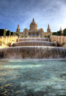 Photograph - National Palace, Barcelona by Luis Davilla