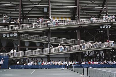 Photograph - National Tennis Center by Alfred Gescheidt