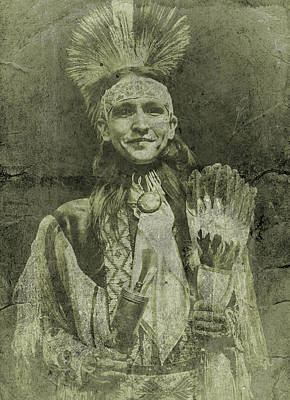 Photograph - Native American Dancer by Joan Reese