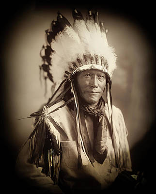Photograph - Native American Indian Chief by Carlos Diaz
