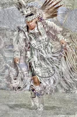 Photograph - Native American Dancer II by Dyle   Warren