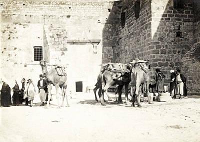 Photograph - Nativity Church 1926 by Munir Alawi