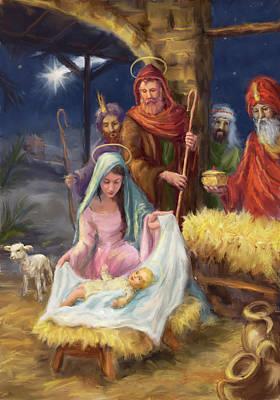 Impressionist Landscapes - Nativity by Patrick Hoenderkamp