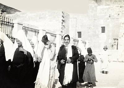 Photograph - Nativity Square 1926 by Munir Alawi