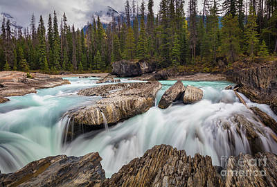 Photograph - Natural Bridge Cascades by Inge Johnsson