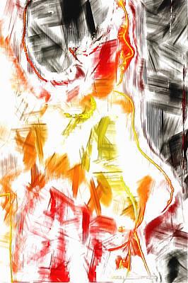 Digital Art - Natural Girl by Mario Carini