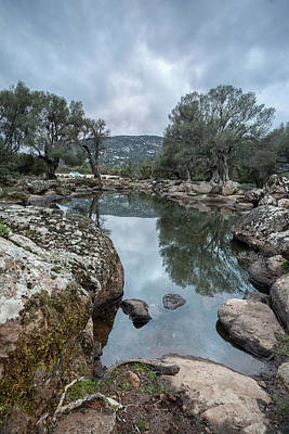 Photograph - Natural Pools by Daniele Fanni