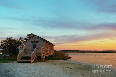 Photograph - Naturalist Shack Sunset  by Michael Ver Sprill