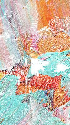 Wall Art - Digital Art - Nature 21018 by Ron Labryzz