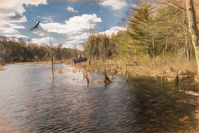 Digital Art - Nature Composite Photograph. by Rusty R Smith