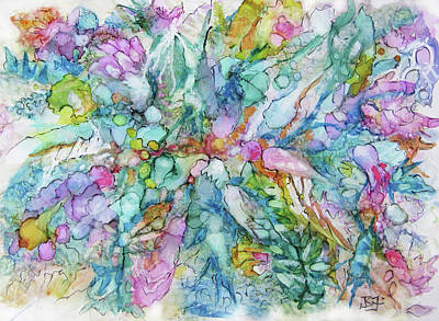 Painting - Nature Flow by Jean Batzell Fitzgerald