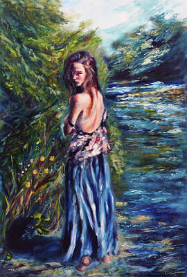 Painting - Nature's Flirtation by Ruslana Levandovska