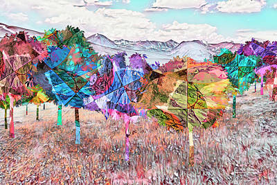 Digital Art - Nature's Kaleidoscope by Mike Braun