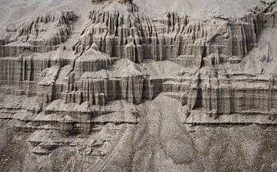 Photograph - Natures Sand Castle by Steven Clark