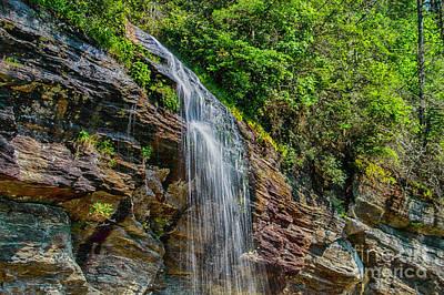 Photograph - Nature's Wonderfalls by Judy Hall-Folde