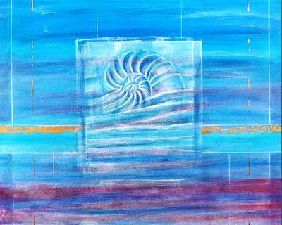 Painting - Nautilus Cloud by Michael Irish