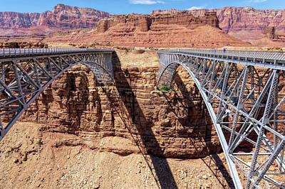 Unicorn Dust - Navajo Bridges in Arizona  by Debra Martz