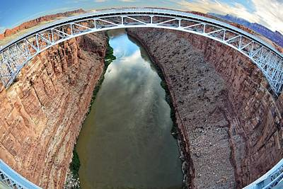 Photograph - Navajo Bridges by KJ Swan