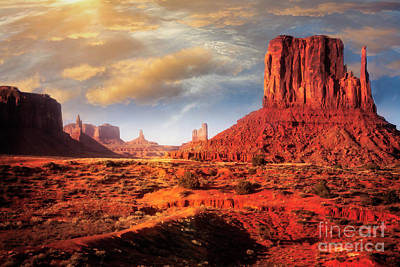 Photograph - Navajo Lands by Scott Kemper