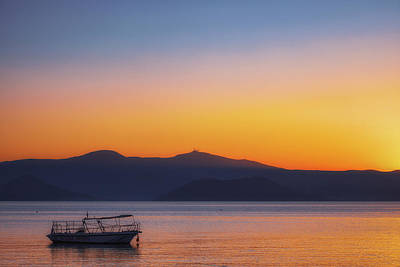 Royalty-Free and Rights-Managed Images - Naxos Sunset No 4 by Chris Fletcher