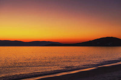 Royalty-Free and Rights-Managed Images - Naxos Sunset No 8 by Chris Fletcher