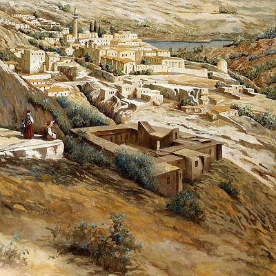 Royalty Free Images - Nazareth Royalty-Free Image by Guido Borelli