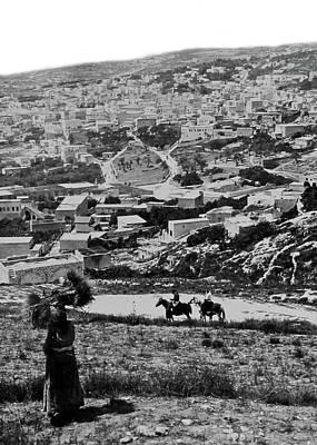 Photograph - Nazareth The City Of Jesus by Munir Alawi