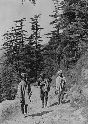 Indian Culture Photograph - Near Simla by Scott