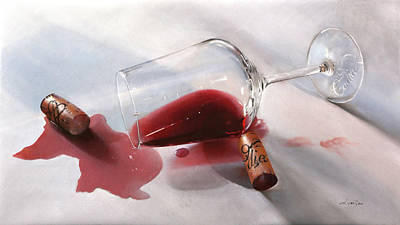 Wine Down Royalty Free Images - Nebbiolo Cadia Royalty-Free Image by Guido Borelli