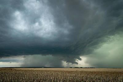 Photograph - Nebraska Storm by Wesley Aston