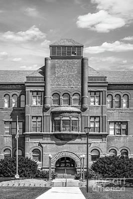 Photograph - Nebraska Wesleyan Old Main Vertical by University Icons