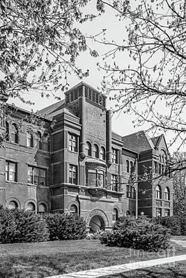 Photograph - Nebraska Wesleyan University Old Main Side View by University Icons