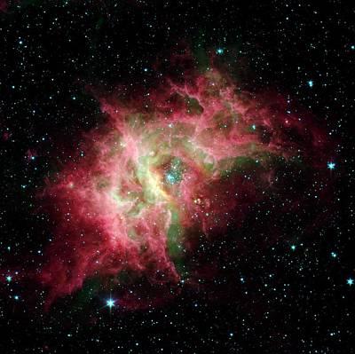 Photograph - Nebula by Nasa/jpl/caltech/spl