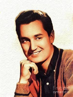 Music Paintings - Neil Sedaka, Music Legend by Esoterica Art Agency