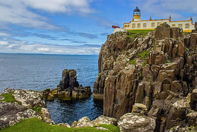 Photograph - Neist Point Lighthouse by Matthew Irvin