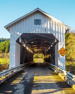Photograph - Nelson Mountain Bridge by Matthew Irvin
