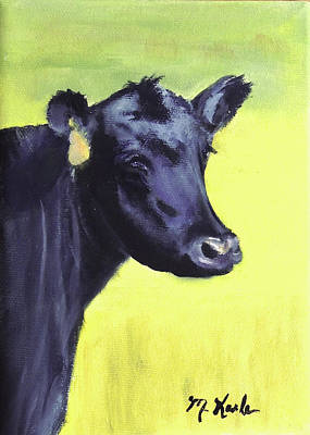 Painting - Nelson's Cow by Marsha Karle