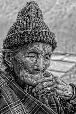 Nepalese Old Woman Original