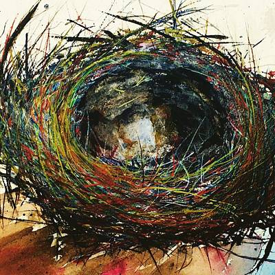Painting - Nest Redux by Julia S Powell