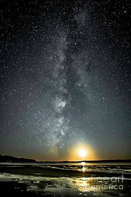 Photograph - Netarts Magic Moonlight by Tim Moore