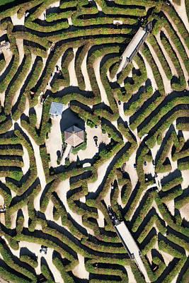 Photograph - Netherlands, Vaals, Labyrinth by Frans Lemmens